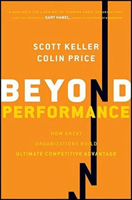 Εικόνα από Beyond Performance: How Great Organizations Build Ultimate Competitive Advantage
