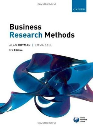 Εικόνα της Business Research Methods 3e