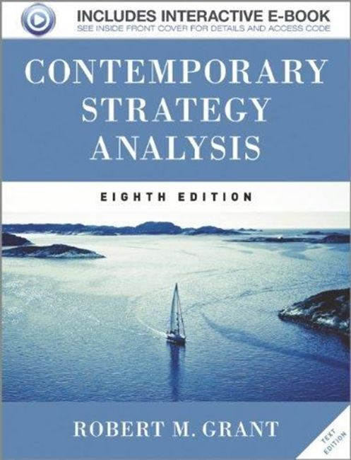 Εικόνα από Contemporary Strategy Analysis Text Only