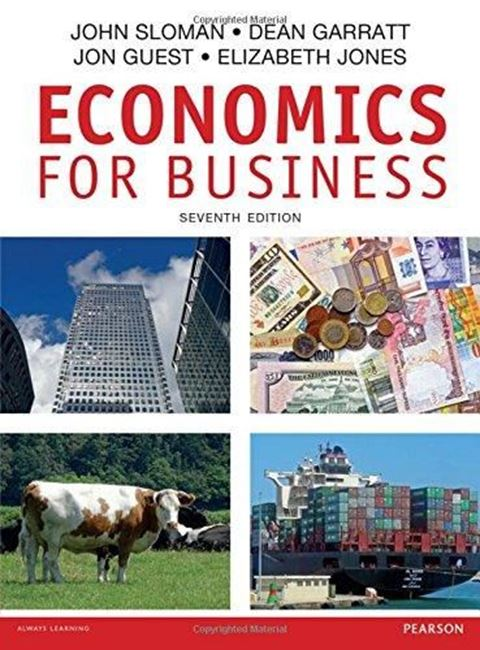 Εικόνα από Economics for Business, 7th edition