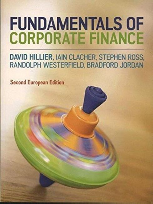 Εικόνα από Fundamentals of Corporate Finance