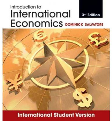 Εικόνα της Introduction to International Economics