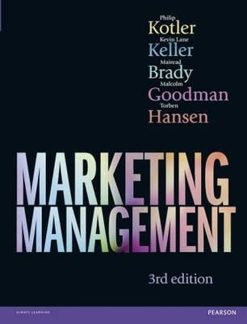 marketing management 14th edition kotler and keller pract Marketing theory and practice marketing management is the gold marketing management, global edition marketing management by kotler & keller 5 june 2012.
