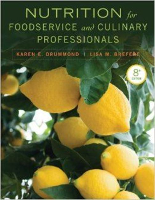 Εικόνα από Nutrition for food service and culinary professionals