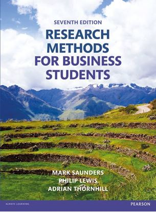 Εικόνα της Research Methods for Business Students (7th Edition)