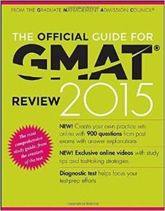 Εικόνα της The Official Guide for GMAT Review 2015 with Online Question Bank and Exclusive Video