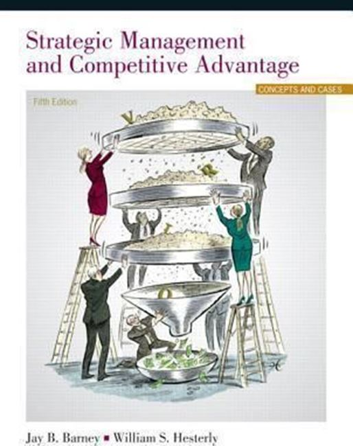 Εικόνα από Strategic Management and Competitive Advantage : Concepts and Cases