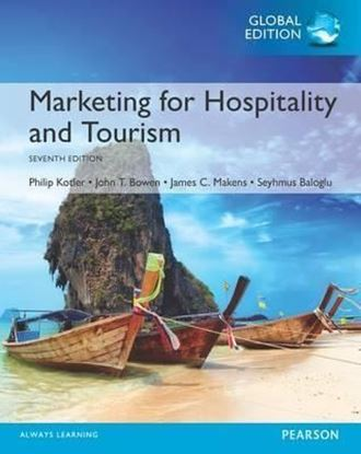 Εικόνα της Marketing for Hospitality and Tourism, Global Edition