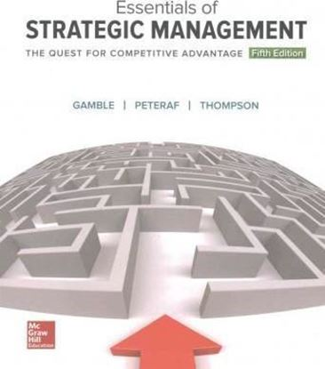 Εικόνα της Essentials of Strategic Management: The Quest for Competitive Advantage